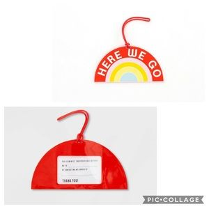 Here We Go Luggage Tag NWT - Lot of 3